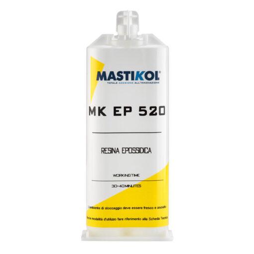 MK EP 520 è una resina epossidica bi componente (resina + indurente)