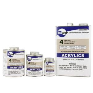 Acrylics family - Acrilici - Trasparenti - Incollaggio PMMA