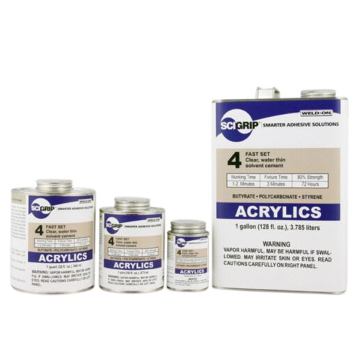 Acrylics family - Transparent Acrylics - PMMA Bonding