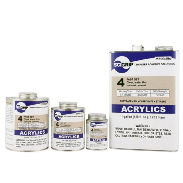 Acrylics family - Transparent Acrylics - PMMA Bonding