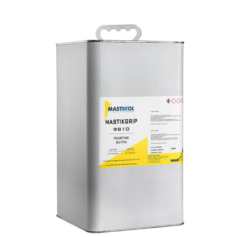 MASTIKGRIP 9810 - Poliuretano reattivo tenace, termo-fusibile esente da solventi applicabile a caldo