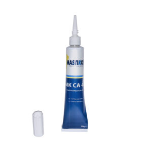Instant adhesive with very high viscosity, gel.